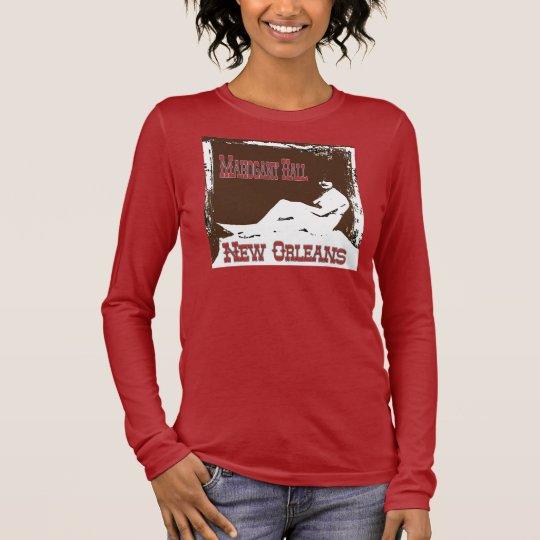New Orleans Brothels, Mahogany Hall Long Sleeve T-Shirt