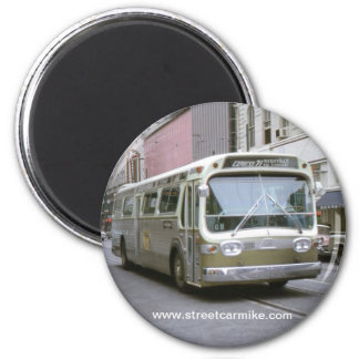 New Orleans Bus 1 Magnet