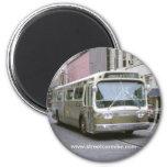 New Orleans Bus 1 Refrigerator Magnet