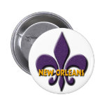 New Orleans Button
