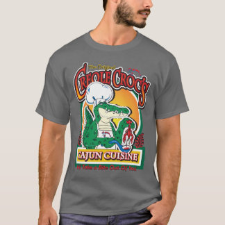 New Orleans Cajun Crocodile T-Shirt