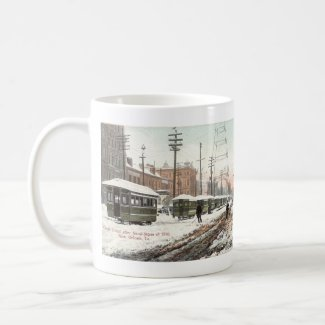 New Orleans Canal St Snow 1885, mug