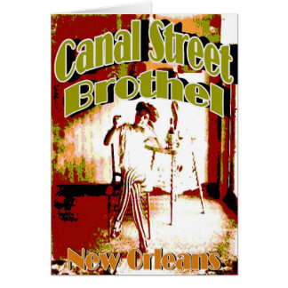 New Orleans Canal Street Brothel Card
