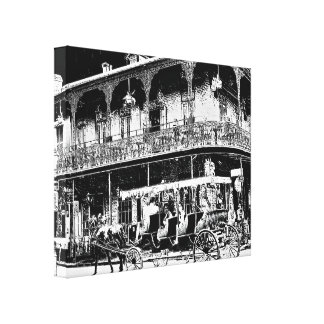 New Orleans Carriage Ride - Canvas Art