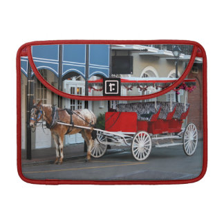 New Orleans Carriage Ride MacBook Pro Sleeve