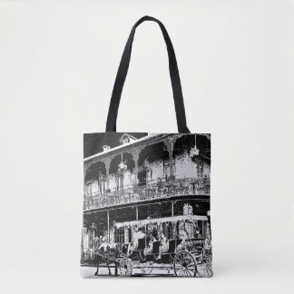 New Orleans Carriage Ride - Tote Bag
