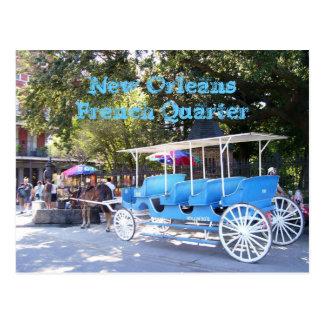 New Orleans, casa de Luisiana y carro Postal