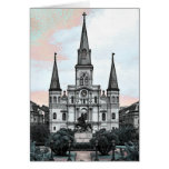 New Orleans Cathedral Greeting Card