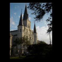 New Orleans Cathedral posters