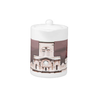 New Orleans Cathedral Teapot