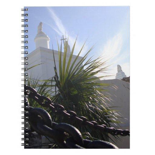 New Orleans Cemetery Spiral Notebook