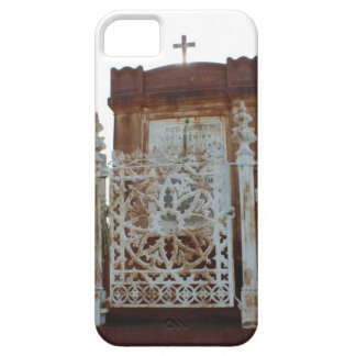 New Orleans Cemetery - Rusted Mausoleum iPhone 5 Cases