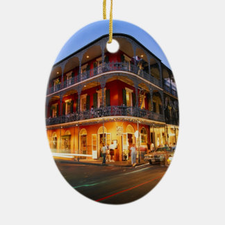 NEW ORLEANS CERAMIC ORNAMENT