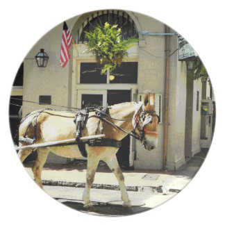 New Orleans Charm  Plate