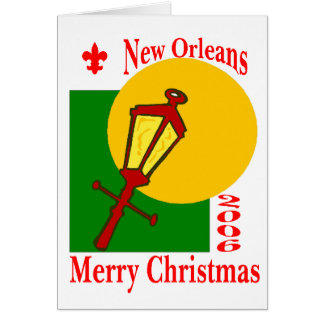 New Orleans Christmas 2006 Card