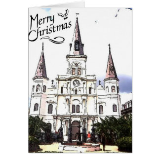 New Orleans Christmas Card