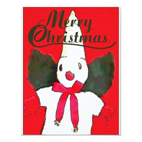 New Orleans Christmas Snowman Card