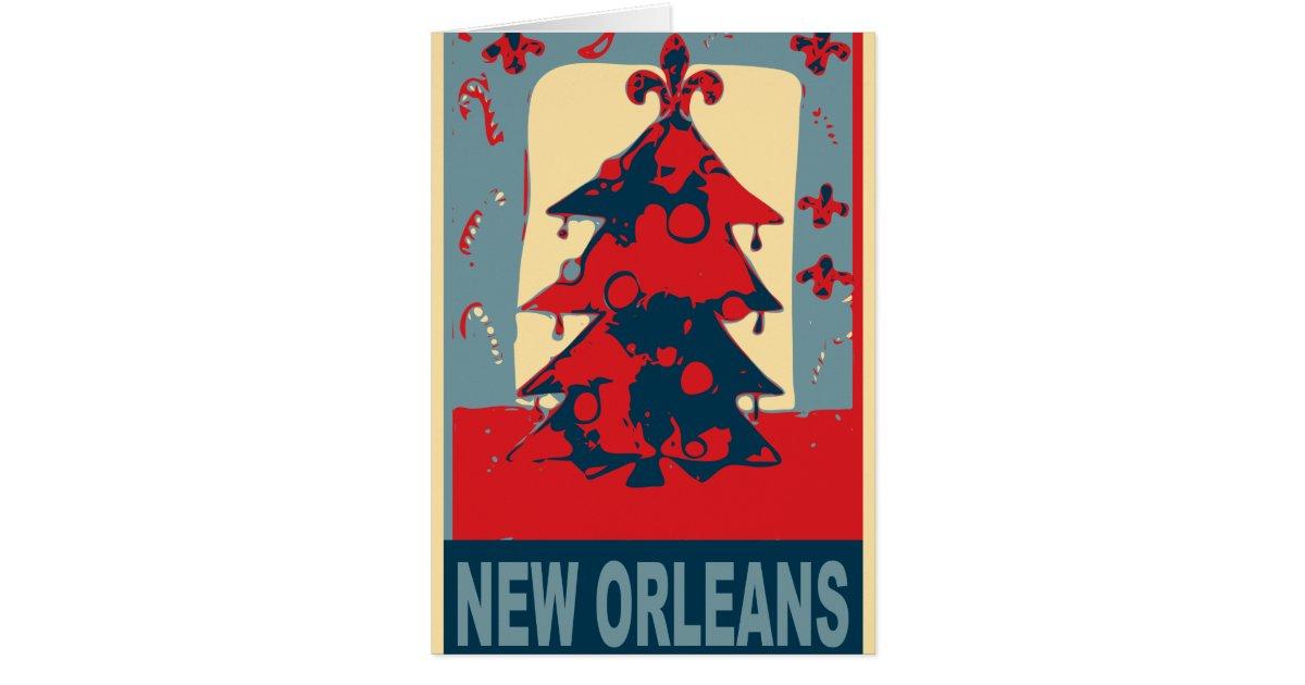 New Orleans Christmas Tree Card | Zazzle.com