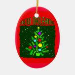New Orleans Christmas Tree Christmas Ornaments