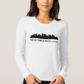 New Orleans Cityscape Skyline T-shirt