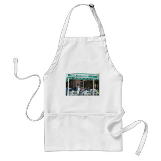 New Orleans Coffee and Beignets Adult Apron