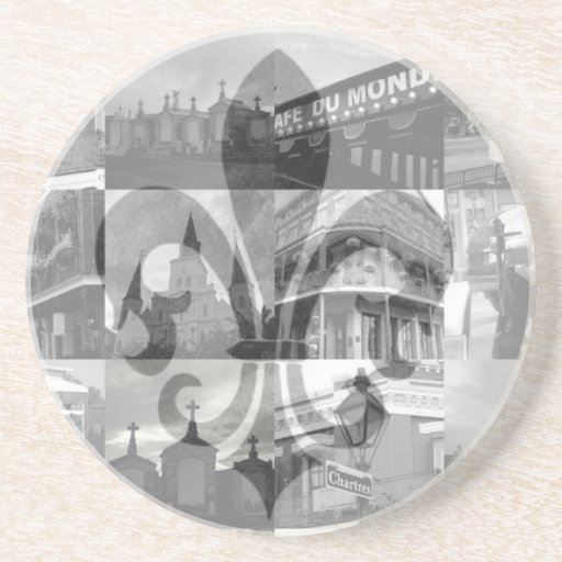 New Orleans Collage [Coasters]