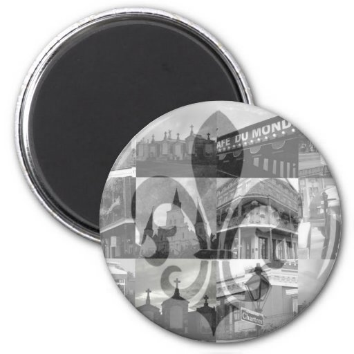 New Orleans Collage [Magnet]