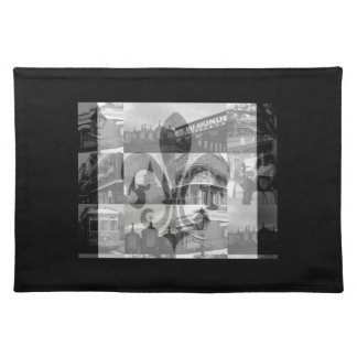 New Orleans Collage [Placemats] Cloth Place Mat