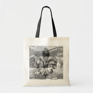New Orleans Collage [Tote Bag] Budget Tote Bag