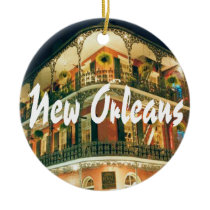 New Orleans Commemorative Keepsake Ceramic Ornament