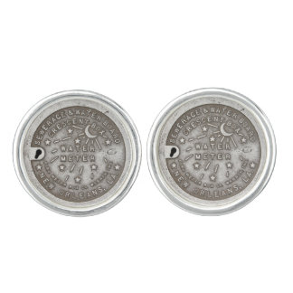 New Orleans Crescent Box Cover Cufflinks