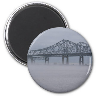 New Orleans Crescent City Connector 2 Inch Round Magnet