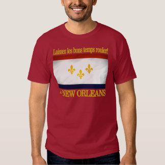 ¡New Orleans - deje el buen rollo de las épocas! Camisas