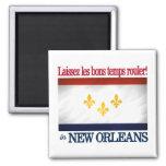 ¡New Orleans - deje el buen rollo de las épocas! Imán De Frigorifico