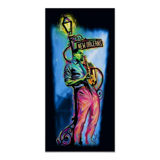 """New Orleans después de la oscuridad "" Poster"