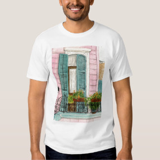 New Orleans Door with Shutters T Shirt
