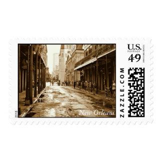 New Orleans: El barrio francés Timbre Postal