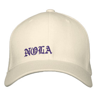 New Orleans Embroidered Baseball Caps