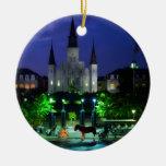 New Orleans en la noche Ornamento De Reyes Magos