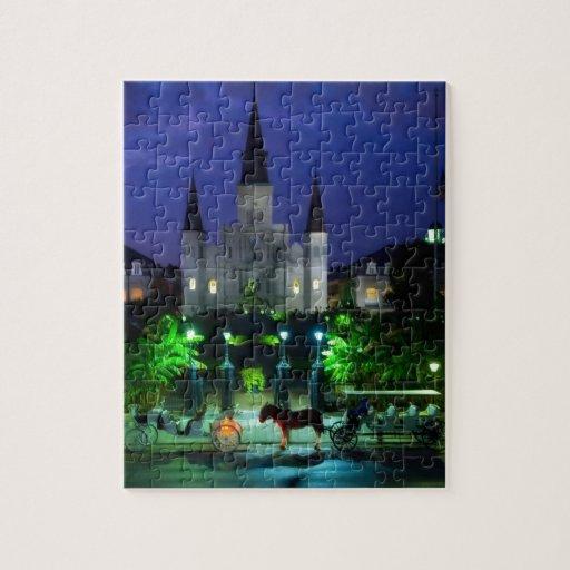 New Orleans en la noche Puzzle