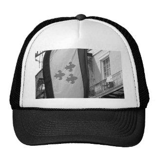 New Orleans Flag Trucker Hats