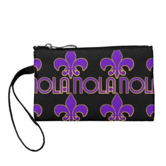 New Orleans Fleur de lis Coin Wallet