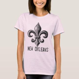 New Orleans Fleur-De-Lis Design T-shirt