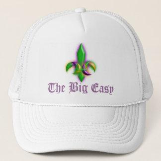 New Orleans Fleur-de-lis Mardi Gras Big Easy Hats