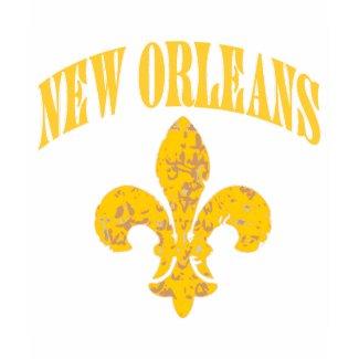 Flor de lis de New Orleans shirt