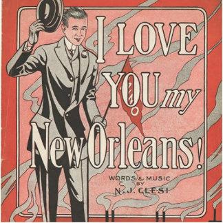 New Orleans Fotoescultura Vertical