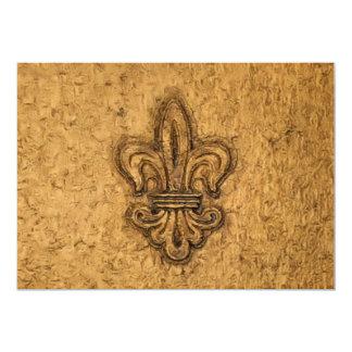 New Orleans French Fleur de Lis Card