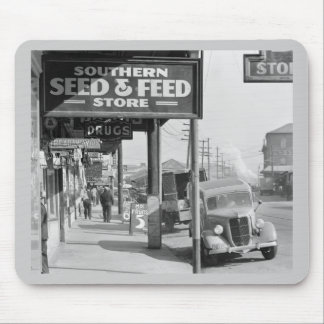 New Orleans French Market: 1935 Mouse Pad