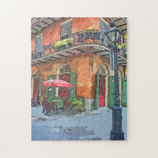 New Orleans French Quarter Alley Puzzle