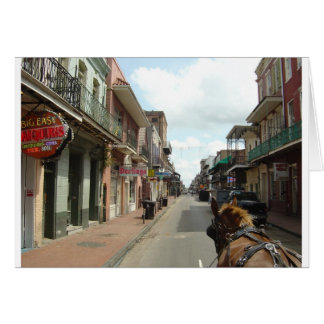 New Orleans French Quarter Card